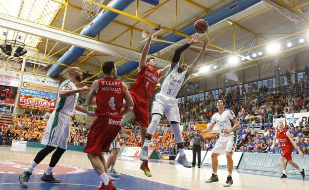 McCallum trata de anotar este domingo en Fuenlabrada /ACB PHOTO