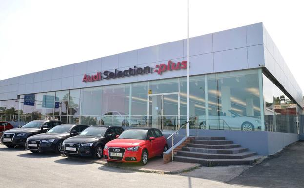 Zona Audi Selection Plus Unica en Málaga./