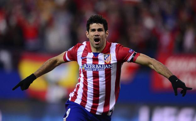 Diego Costa regresa al Atlético. /Afp