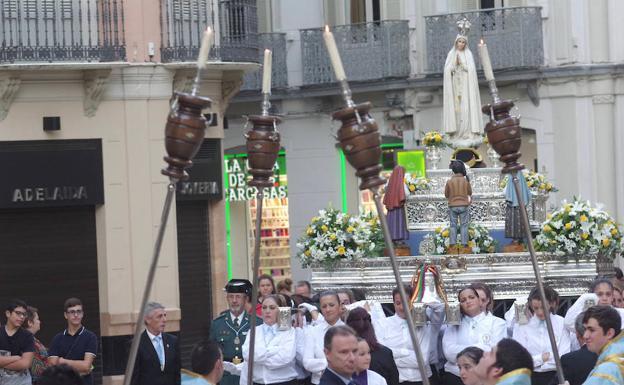 Resultado de imagen de Rosario de las Glorias. Virgen de Fátima. Málaga,