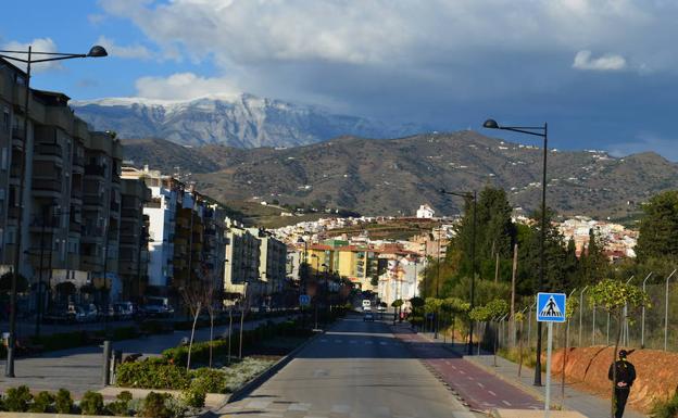 La Maroma, vista desde Vélez-Málaga