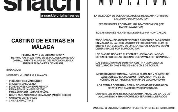 Requisitos para el casting