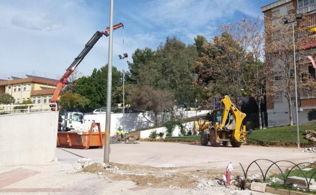 Ciudad jard n mejora de una pista deportiva diario sur for Distrito ciudad jardin