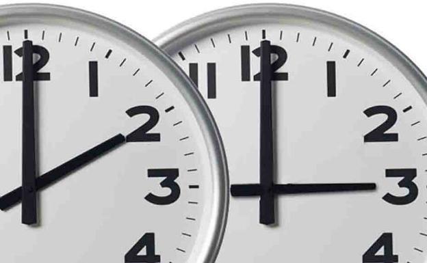 Cambio de hora./