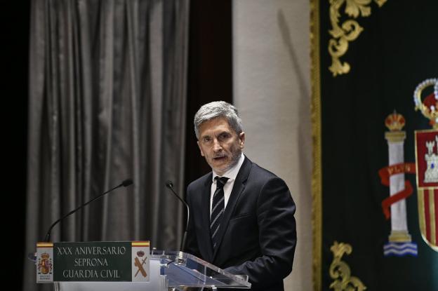 Las v ctimas avisan a marlaska de que estar n vigilantes for Declaraciones del ministro del interior