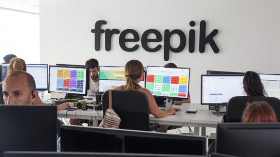 'Financial Times' coloca a la malagueña Freepik como la empresa de Europa con un mayor crecimiento de su sector