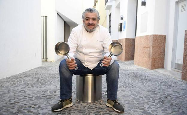El chef Dani Carnero.