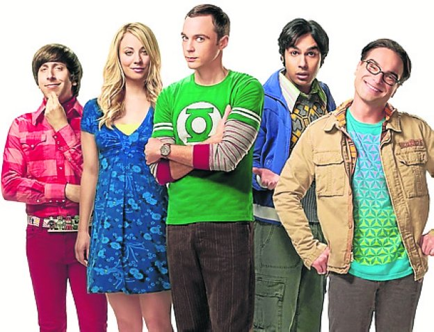 Los actores de 'The Big Bang Theory'. /