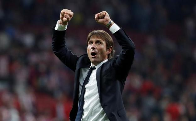 Antonio Conte. /Paul Hanna (Reuters)