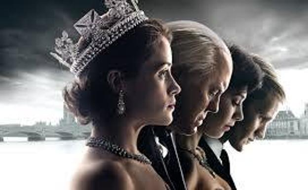 Cartel de la serie 'The Crown'.