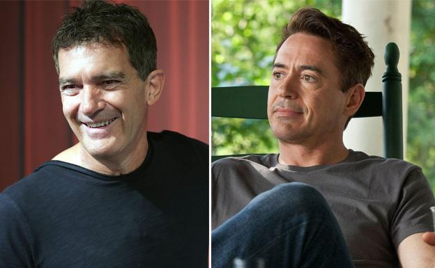 Antonio Banderas y Downey Jr/Zipi