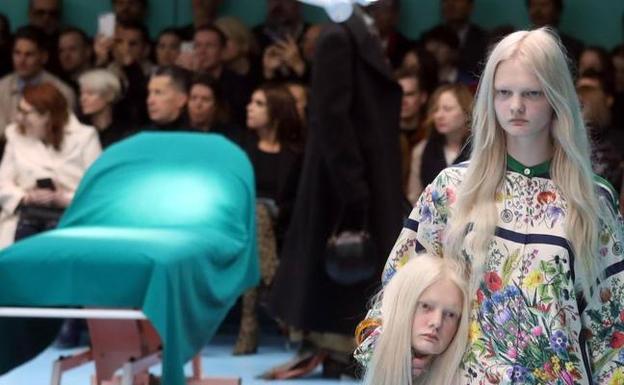 Así fue el desfile más  terrorífico  de Gucci  bbbea0e4e2a
