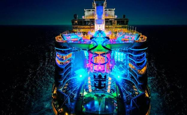 Así es el 'Symphony of the Seas'.