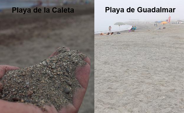 Por Qué La Arena De Las Playas De Málaga Es Más Oscura Diario Sur