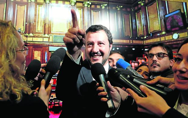 Matteo Salvini. :: REUTERS/