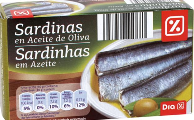 latas de sardinas dia