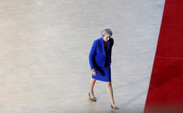 Theresa May. /Reuters