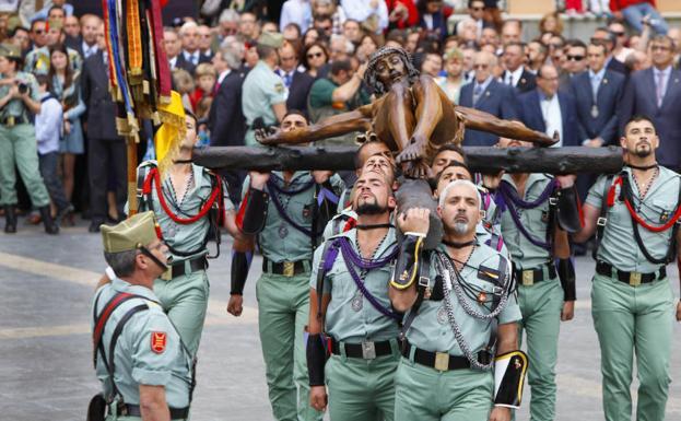 Cómo Seguir En Directo El Desembarco De La Legión Del Cristo De Mena En Málaga El Jueves Santo Diario Sur