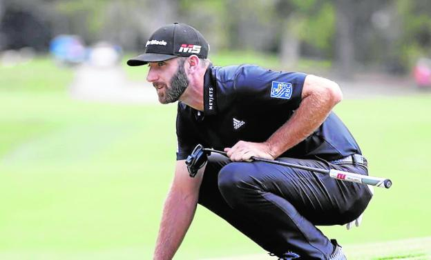 Dustin Johnson. :: AP/