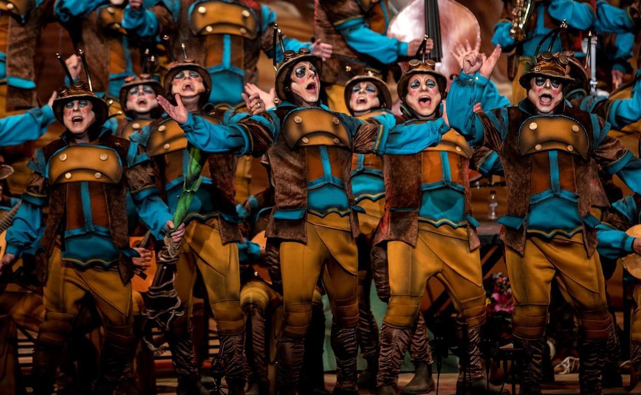 Final Del Carnaval De Cádiz 2020 Vídeo Del Coro Ganador Diario Sur