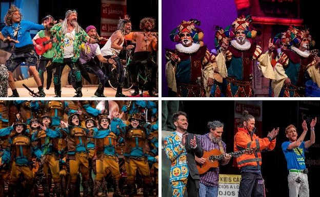 Final Del Carnaval De Cádiz 2020 Chirigota Comparsa Cuarteto Y Coro Ganadores En El Concurso Oficial De Agrupaciones Del Carnaval De Cádiz 2020 Diario Sur