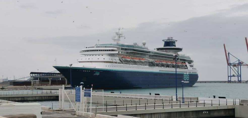 Málaga perderá el atraque de unos 80 barcos con capacidad para 120.000 personas que tenían previsto hacer escala en abril y mayo