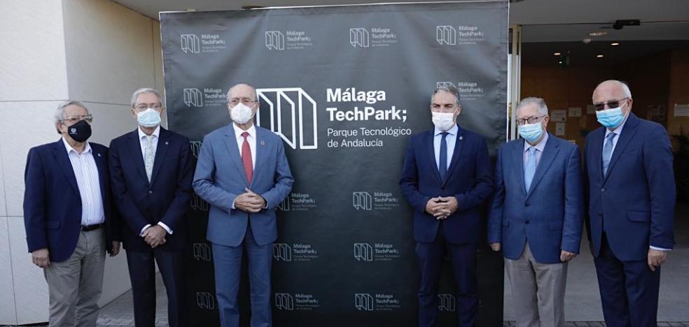 Málaga se cuela en el nuevo logo del PTA 2