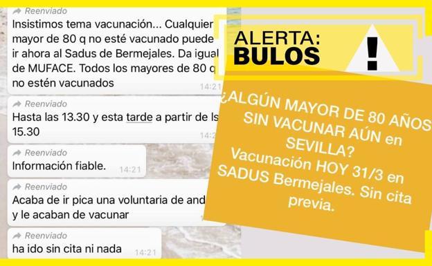 La junta niega que se vacunará contra el Covid-19 en Andalucía sin cita previa