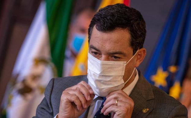 Juanma Moreno anunció la prórroga este martes / EFE