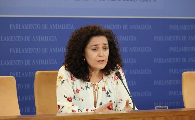 Inmaculada Nieto, portavoz de Adelante Andalucía - Unidas Podemos / sur