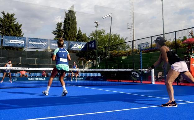 Tres malagueños en los cuartos de final del Open de Cerdeña