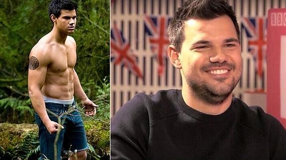 Taylor Lautner, el lobo de Crepúsculo, sorprende con su nueva ...