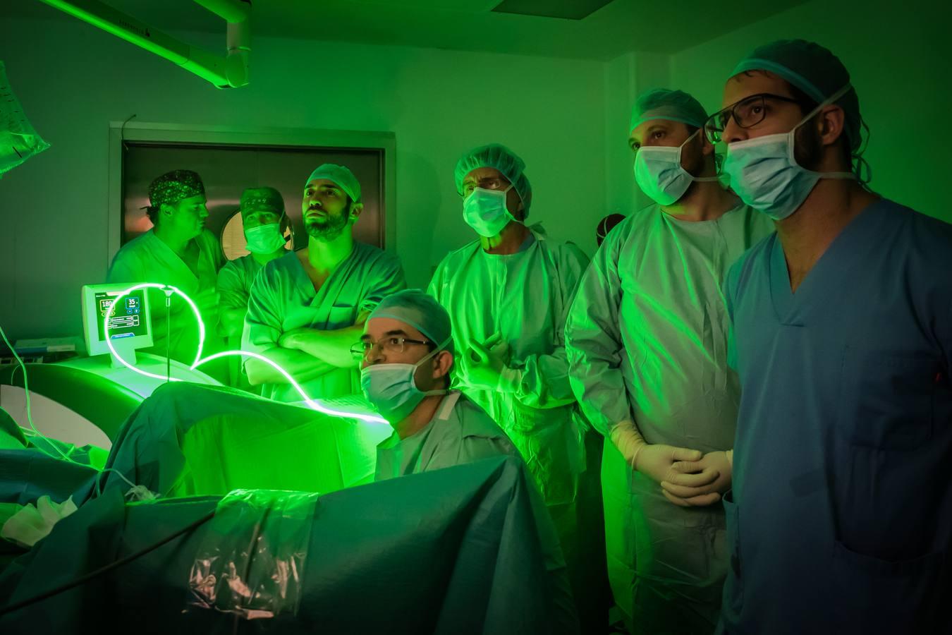 cirugía láser de próstata no invasiva
