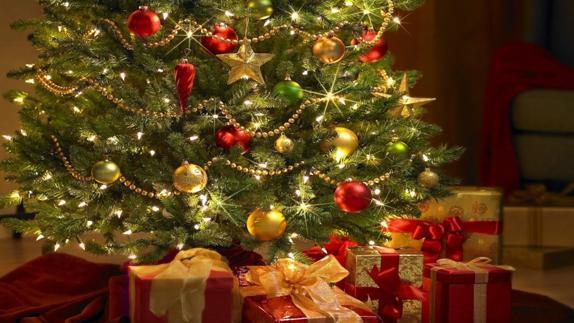 Como poner luces arbol navidad
