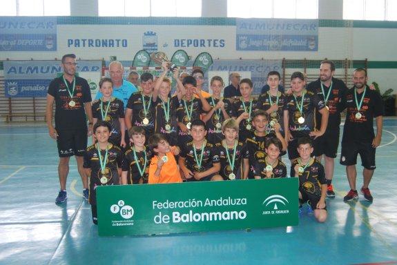 3fd65d0597 El Balonmano Mijas se corona como campeón del Andaluz alevín ...